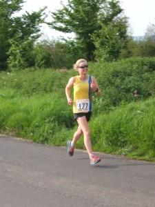 Gemma Bragg at 2 miles