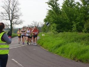 Nikki Sandell and Richard Nelson 2 miles