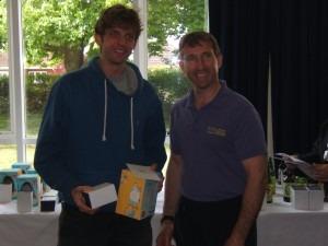 Toby Chapman winner