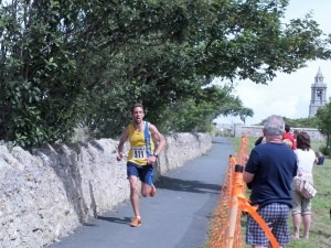 Peter Thompson finishes Portland 10 in 2nd place