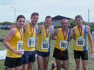 BAC's winning DRRL Team Simon Munro, Peter Thompson, Jon Sharkey, Jacek Cieluszecki and Toby Chapman