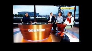 Gary Lineker, Ian Thorpe and Sir Chris Hoy with august company on BBC TV