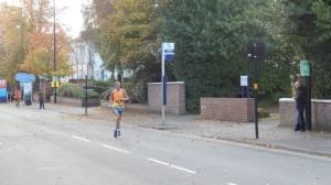 Steve Way competes in the Birmingham Half Marathon