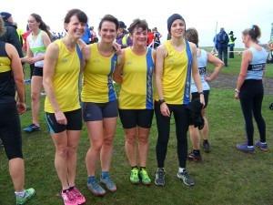 BAC Ladies' team -Nikki Sandell, Cherry Sheffrin, Louise Price, Heidi Tregenza