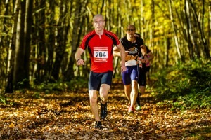 Ross Smith competes in the Grim Duathlon