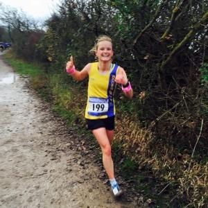 Gemma Bragg - first lady Portsmouth Coastal Marathon