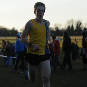 Josh King heads towards 21st position and 1st U20 at Popham