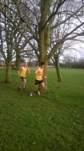 Robin Copestick and Ross Smith battle it out
