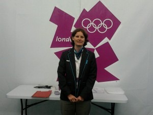 Jemma Bates was one of the National Officials helping to ensure the success of the London 2012 Olympics