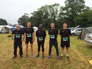 Paul Hill (529) and his Endure 24 team 'before the fun starts'