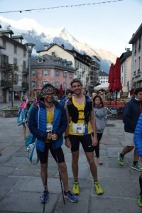 Manol and Toby enjoying life in Chamonix, France