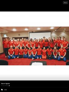 GB's U18 Squad World Championships, Colombia - Zac Kerin, left