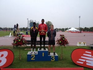 Patrick Sylla - Gold Medalist at EA U17 Championships Bedford (Long Jump)