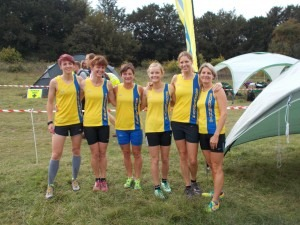 BAC Ladies Team Heidi Tregenza, Nikki Sandell, Louise Price, Gemma Bragg, Emma Dews and Caroline Rowley
