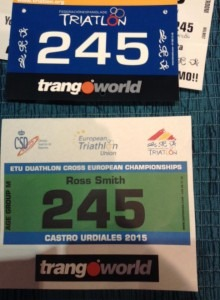 Ross Smith is ready for the European Championships
