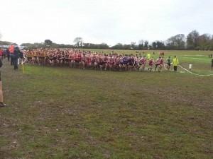 Mens' start Hampshire XC League, Popham