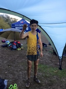 Rob McTaggart - 16th at Hampshire Cross Country League, Popham