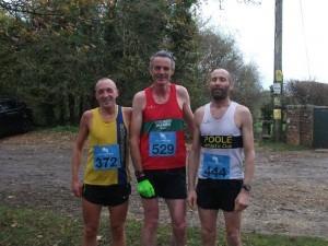 Graeme Miller (372)  - 2nd in the Wimborne 10