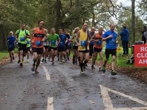 Tony Hunt with almost ten miles to go in the Wimborne 10