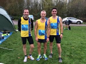 Wimborne 10 - Adrian Townsend, Gary Woolnough and Chris O'Brien