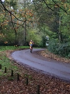 Wimborne 10 - Graeme Miller approaches the finish