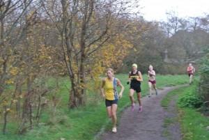 Emma Dews leads the BAC Ladies' Team in Kings Park