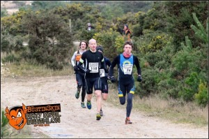 Ross Smith (110) on his way to winning the Dirty Devil Duathlon