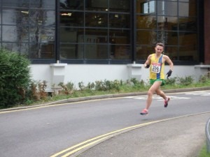 Karl Welch finishes third in the Broadstone Quarter