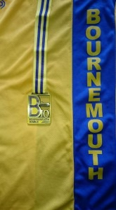 The unique medals presented to all Bournemouth 10 finishers