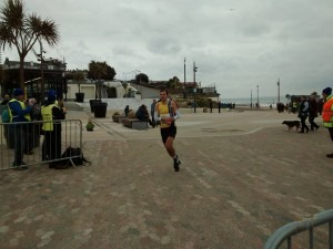 Jon Sharkey - a clear winner of the Bournemouth 10