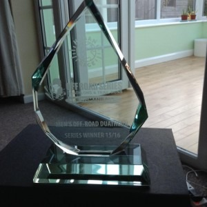 Ross Smith Human Race Overall Winner's Trophy 2015-16