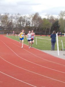Dave Long has some competition in the 5000m at Ashdown (SAL)