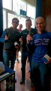 BAC's NDVM prizewinning team, Anthony Clark, Jon Sharkey and Simon Way