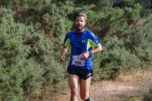 Anthony Clark competes in the Bad Cow Weekend marathon