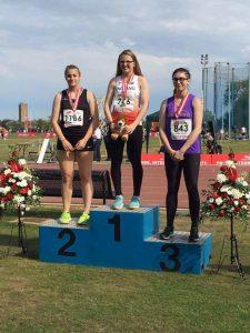 Danielle Broom - U17 England Athletics Discus Champion