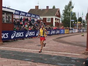Steve Way finishes 4th in the Ultravasan 90k, Sweden