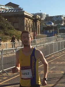 Tom Paskins about to smash his HM PB by over 4 mins!