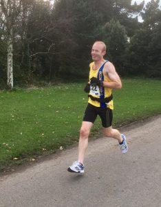 Steve Cox in Kings Park