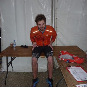 Toby Chapman - 1st in Endurance Life Dorset 45 mile race
