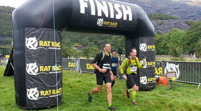 BAC athletes Adrian and Toby in contrasting off road races