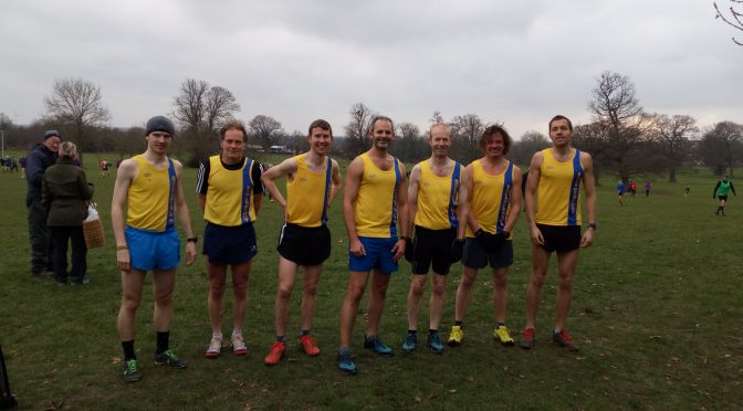 Hampshire Cross Country League success at Reading