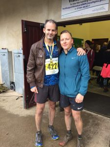 Rich Brawn and Brad Cox - Warmley Forest Park 5k