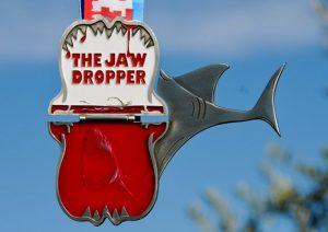 Phoenix Running Jaw Dropper Marathon medal