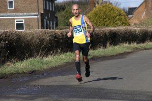 Sanjai Sharma at Wokingham Half Marathon