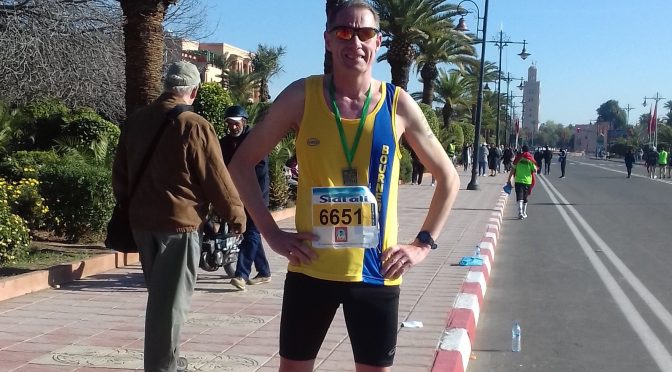 Simon Hearn - Marrakech Half Marathon