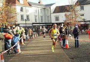 Simon Way at Wokingham Half Marathon