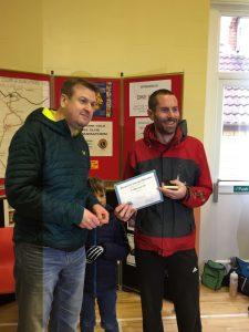 Steve Way - 1st male over 40 - Blackmore Vale Half Marathon