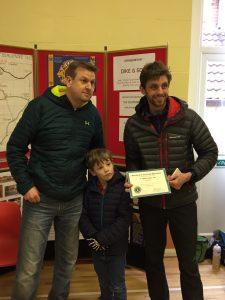 Toby Chapman - 1st male under 40 - Blackmore Vale Half Marathon