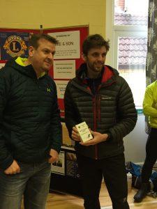 Toby Chapman - 1st male - Blackmore Vale Half Marathon
