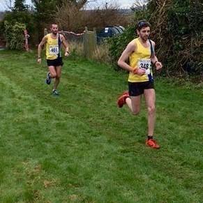 Toby Chapman & Steve Way - 1st and 2nd - Blackmore Vale Half Marathon